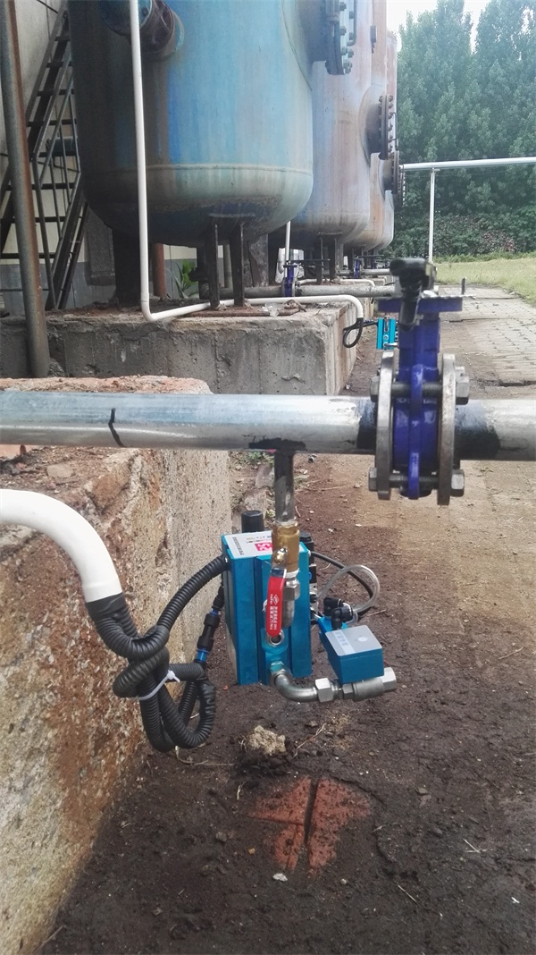零气耗防堵排水器A型安装现场