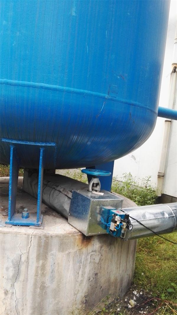 零气耗防堵A型气控球阀储气罐