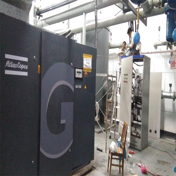 空压机变频改造现场施工